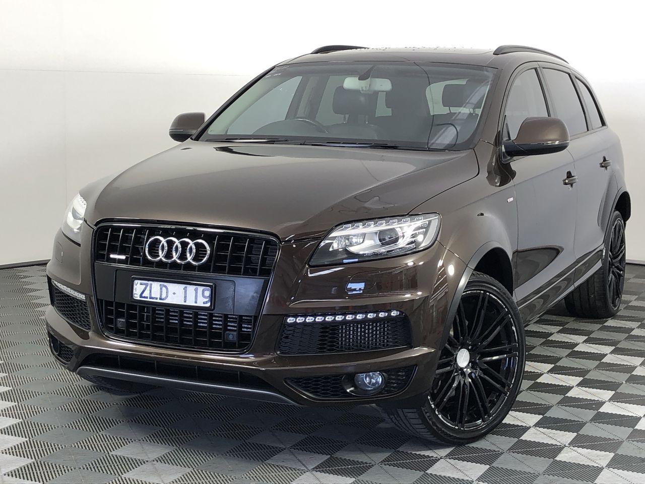 2012 Audi Q7 3.0 TDI quattro Turbo Diesel Automatic - 8 Speed 7 Seats Wagon