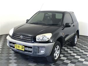 2002 Toyota Rav 4 Edge (4x4) Manual Wago
