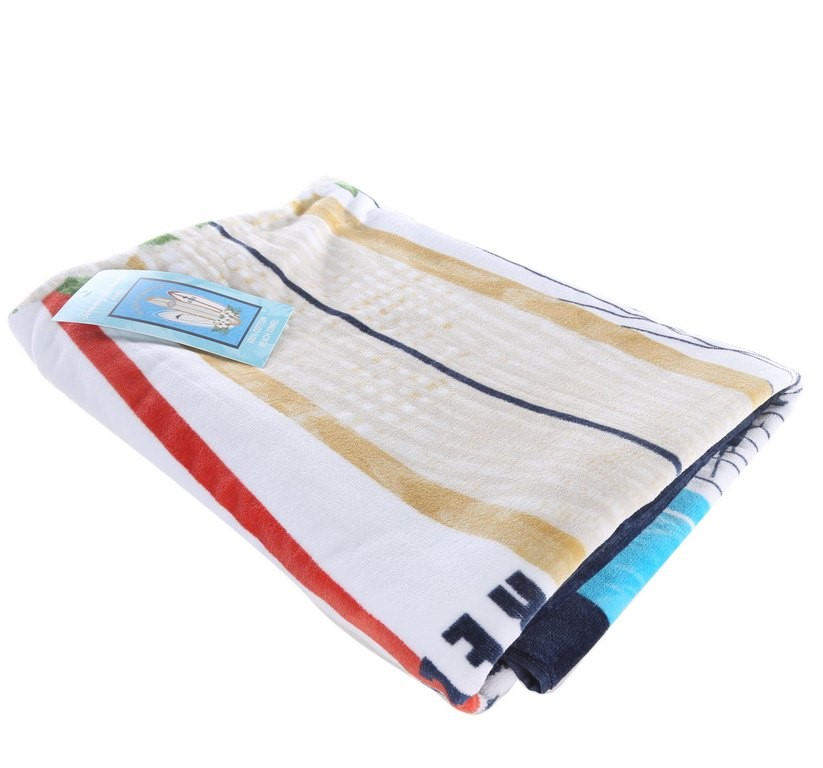TOMMY BAHAMA Beach Towel 100% Cotton, 100cm x 177cm. Buyers Note - Discount