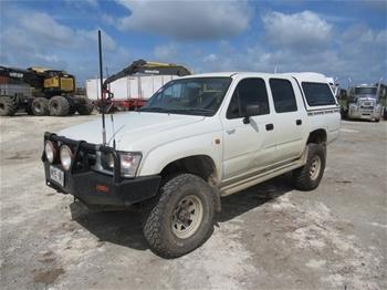 2000 Toyota Hilux 4WD Dual Cab Ute