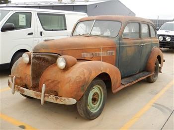 1939 Chevrolet RWD Sedan