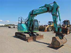 2013 Kobelco SK135SR-2 Hydraulic Excavat
