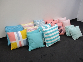 Qty of Square Cushions
