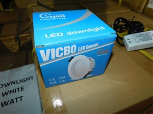 1 x Box of Unused Downlights