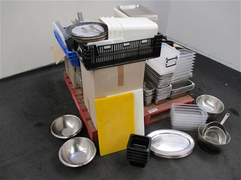 Large Quantity of Kitchen Equipment