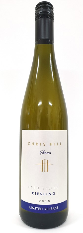 Chris Hill Limited Release Eden Valley Riesling 2018 (12 x 750mL) SA