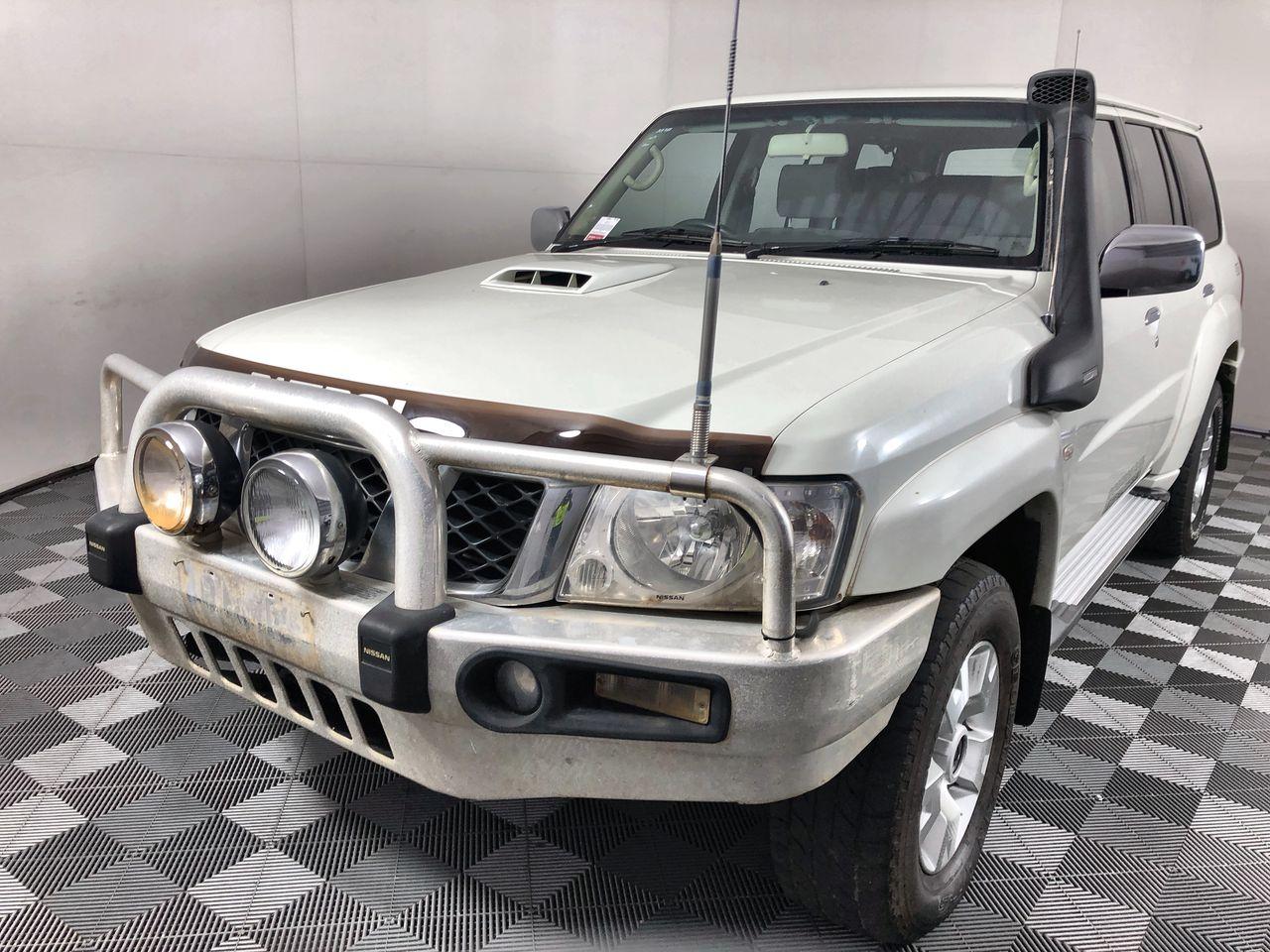 2011 Nissan Patrol ST (4x4) GU II Turbo Diesel Automatic 7 Seats Wagon