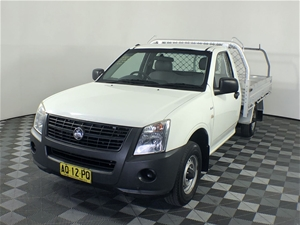 2007 Holden Rodeo DX RA Manual Cab Chass