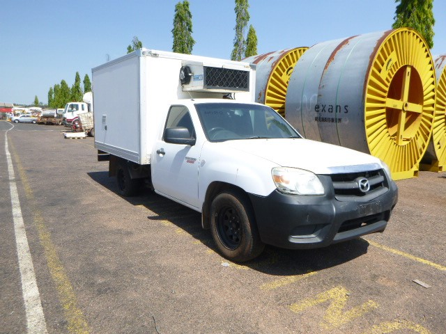 2010 Mazda BT50 Boss Ute Fitted with Refrigeration Unit
