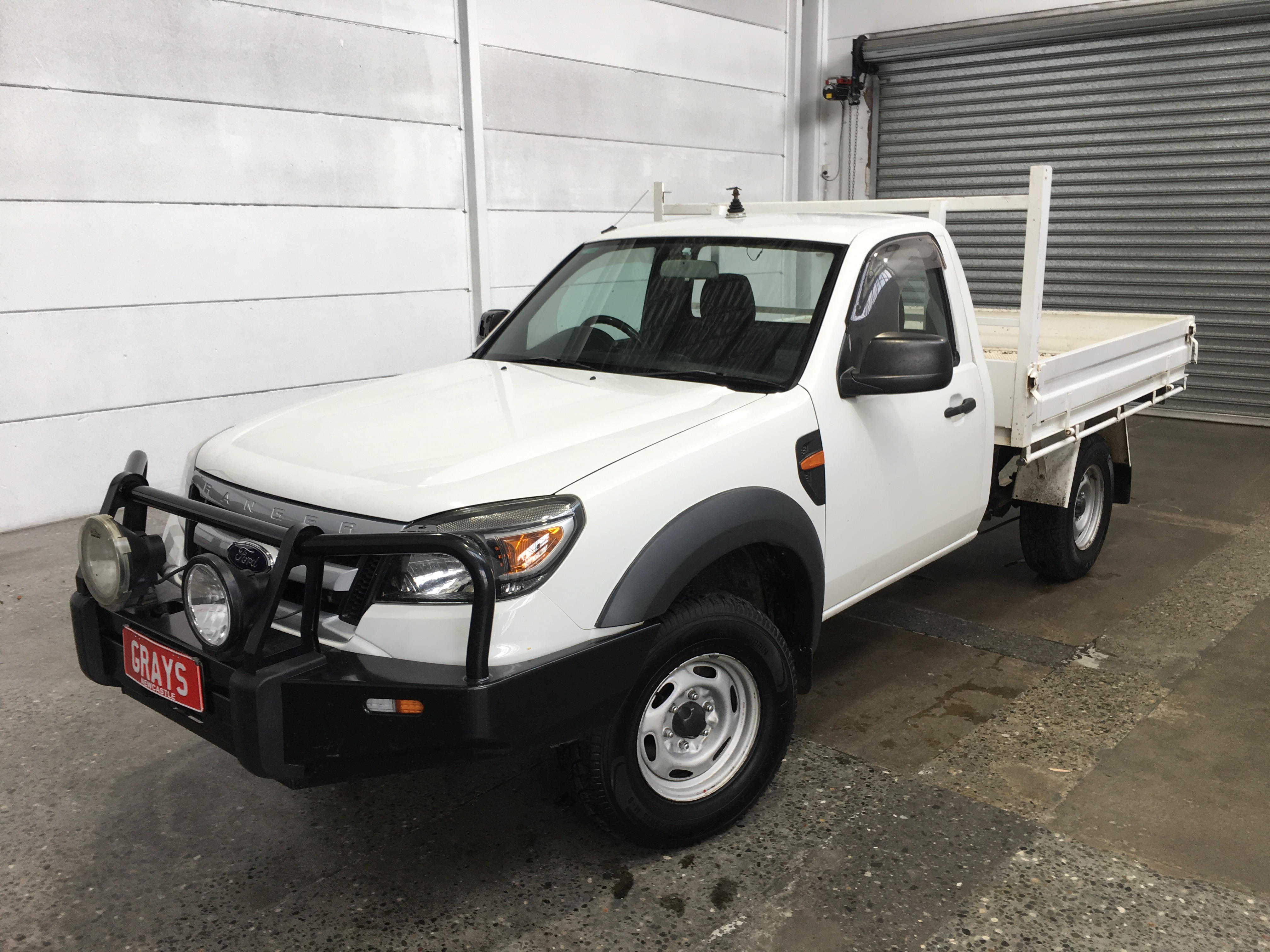 2009 Ford Ranger XL (4x4) PK Turbo Diesel Manual Cab Chassis