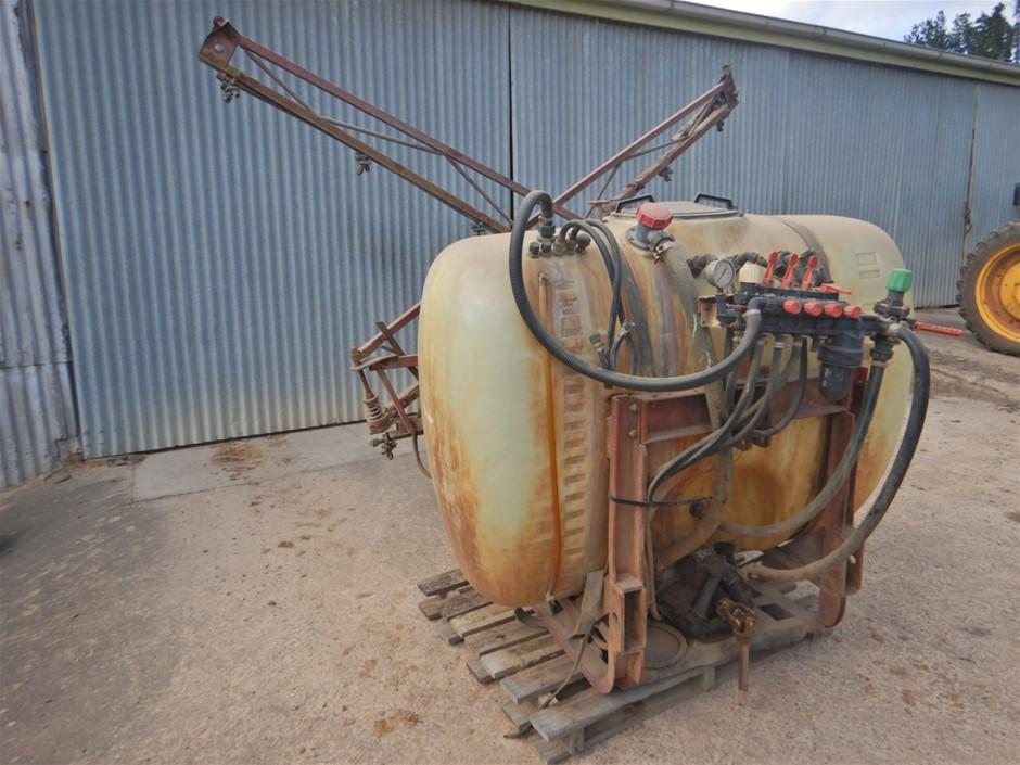 Silvan Hydraulic Spray Boom Tractor Attachment (Uraidla, SA)