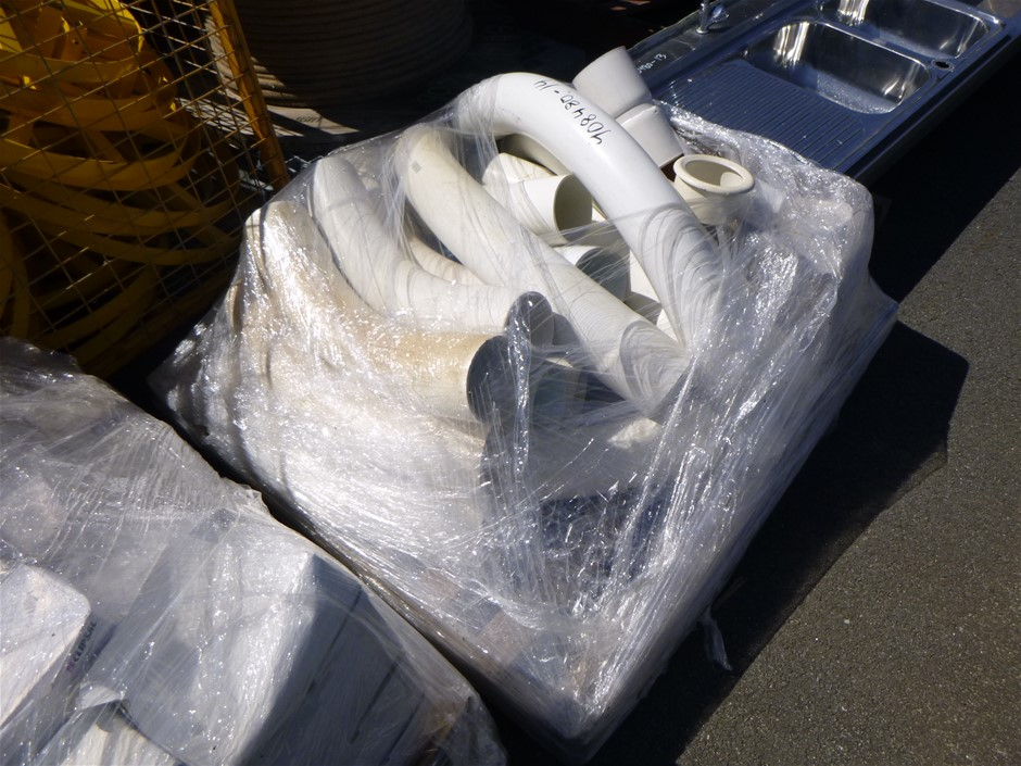 Pallet of PVC Curved Joints