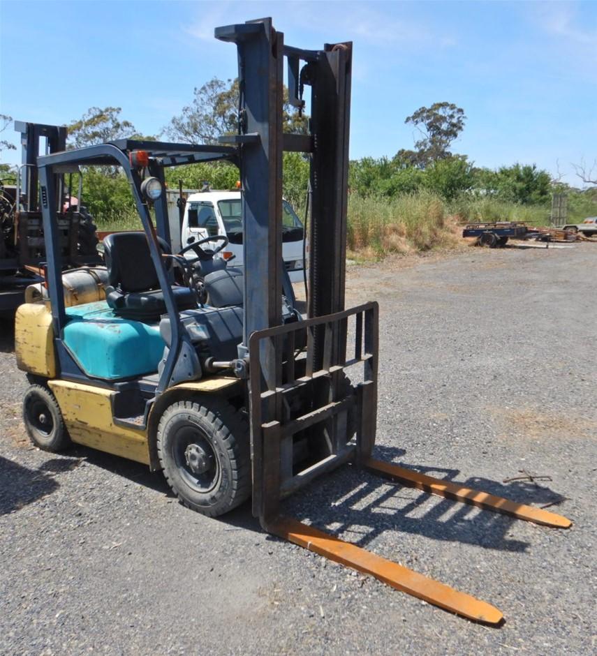 1999 Komatsu FG25T-12 4 Wheel Counterbalance Forklift (Meadows, SA)