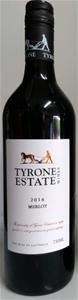 Tyrone Estate Merlot 2016 (12 x 750mL) S