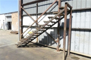 STEEL FABRICATED STAIRCASE