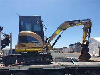 Caterpillar 303.5DCR Hydraulic Excavator