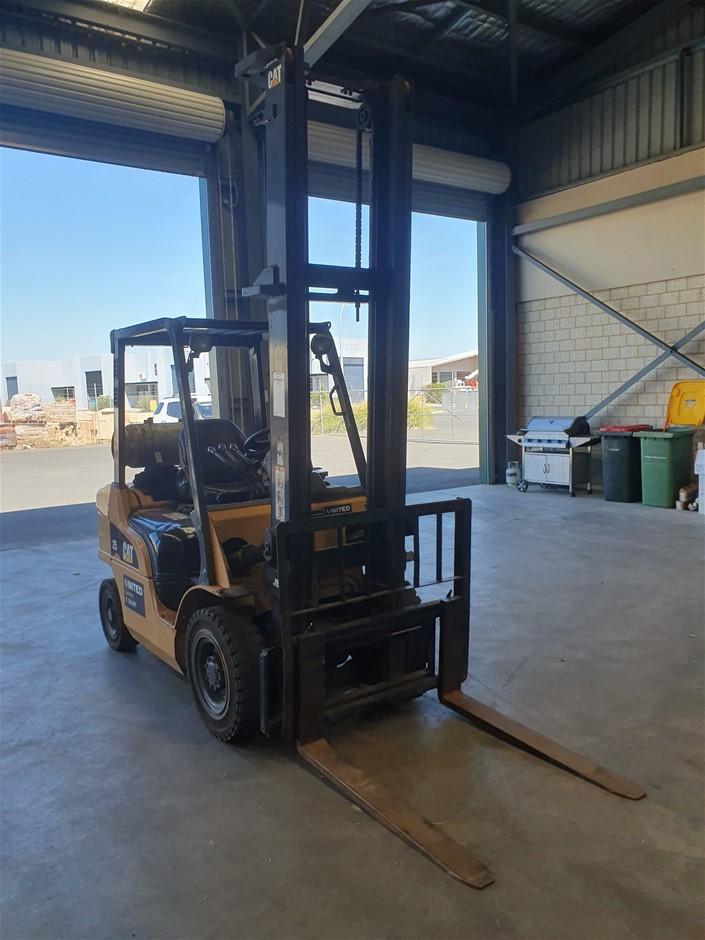 Caterpillar GPE25NT 4 Wheel Counterbalance Forklift
