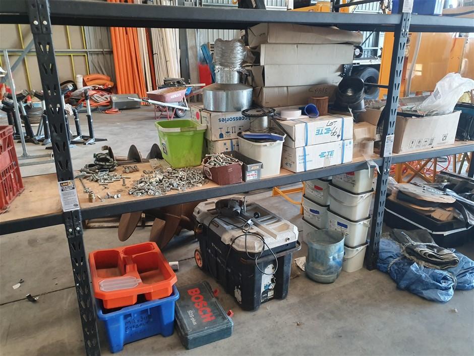 Contents of Shelving Unit