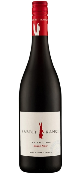 Rabbit Ranch Pinot Noir 2018 (12 x 750mL), Central Otago, NZ.