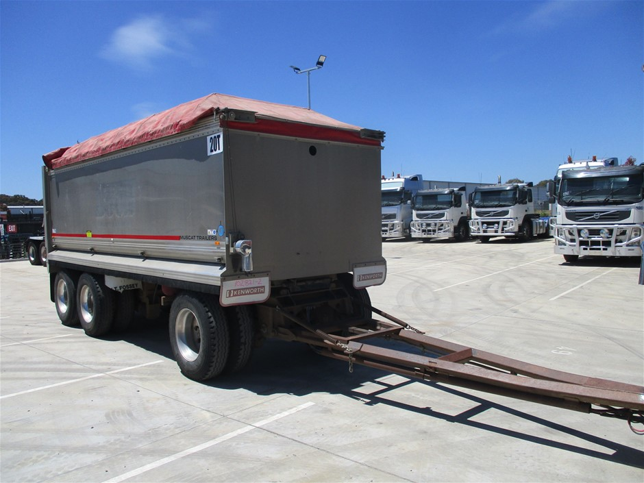 2007 Muscat Trailers Dog Trailer