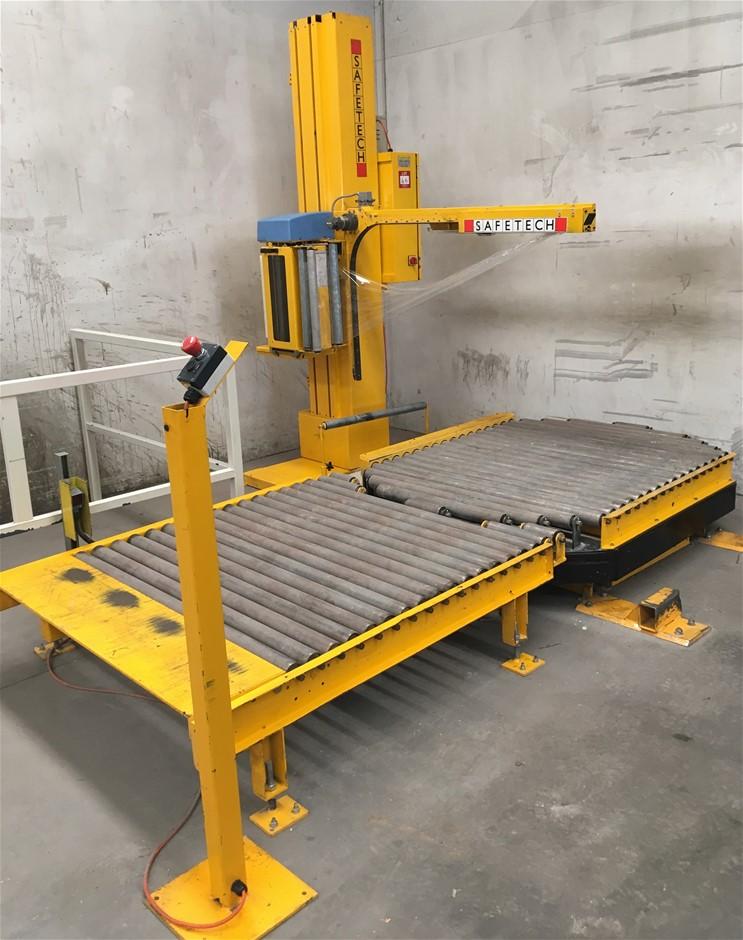 Safetech Automatic Pallet Wrapper.