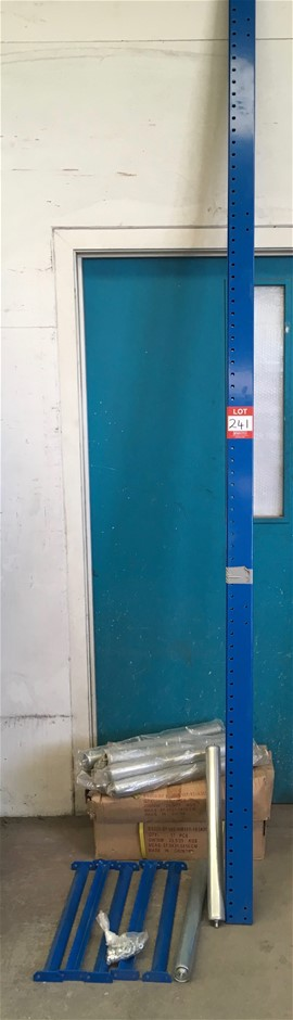 Roller Racking kit NEW (3m long, 40 rollers 530mm x 50mm