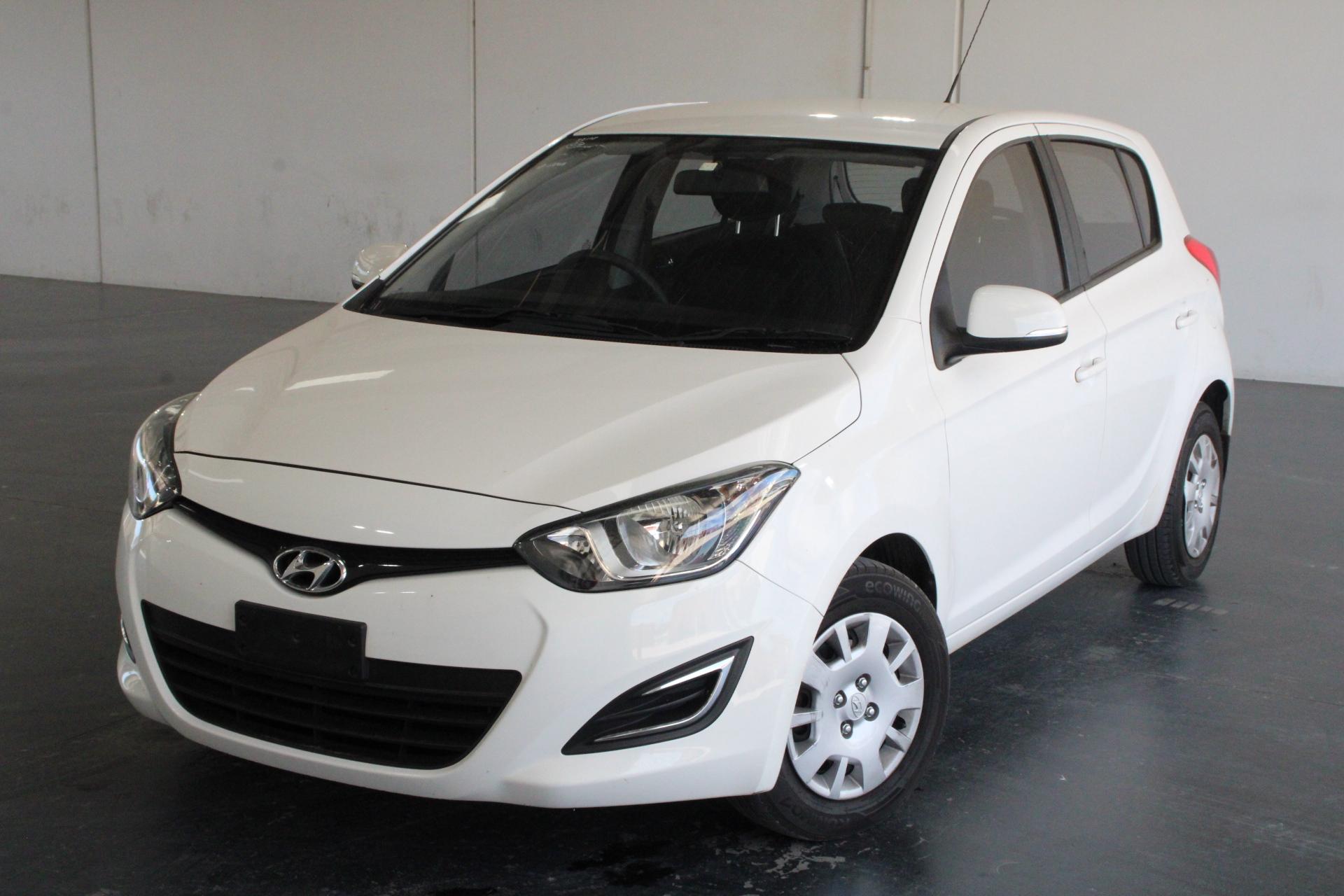 2012 Hyundai i20 Active PB Manual Hatchback