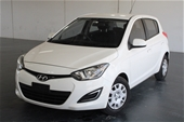 Unreserved 2012 Hyundai i20 Active PB Manual Hatchback