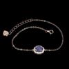 Delicate Genuine Tanzanite Bracelet.
