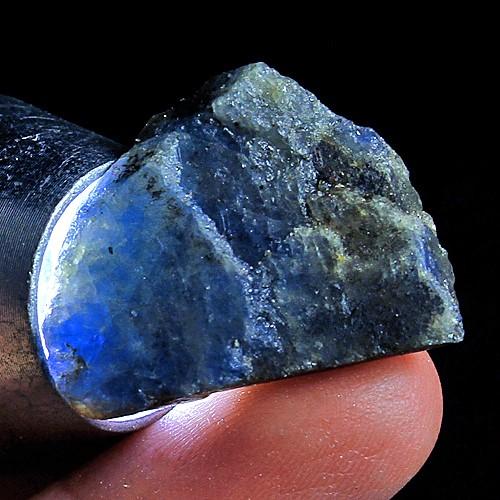 211ct. Genuine Uncut Blue Sapphire Lot