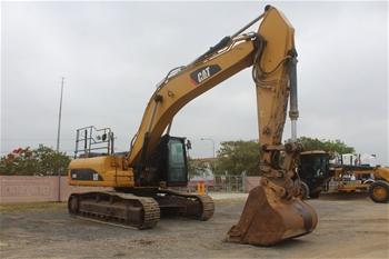 2010 Caterpillar 336DL Hydraulic Excavator