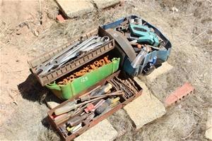 Assorted Tools & Bolts