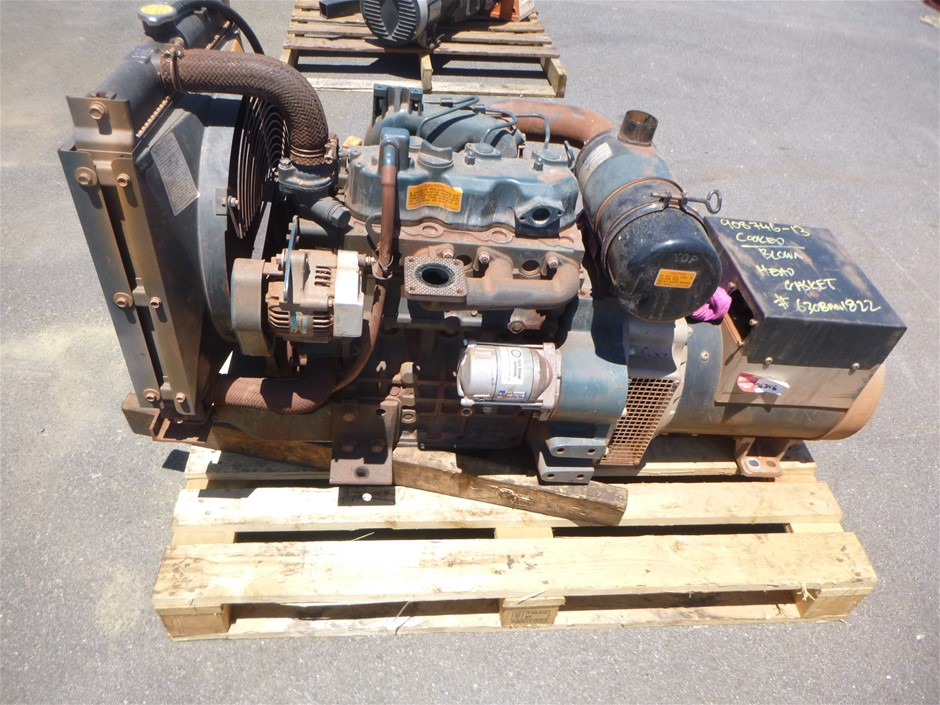 Kubota 13 Kva Diesel Generator Engine & Generator Pack