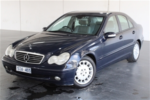 2002 Mercedes Benz C180 Classic W203 Aut
