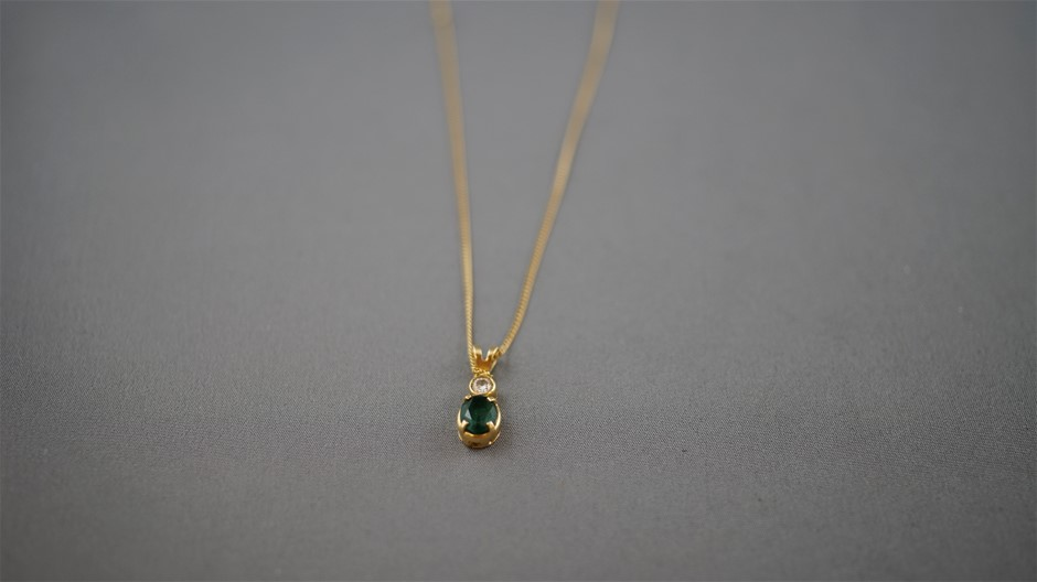 Stamped 18ct Yellow Gold Chain Necklet