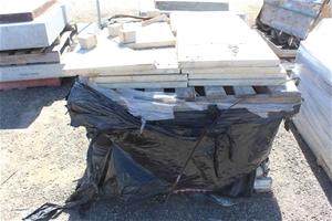 2 x Pallets of Concrete Slabs