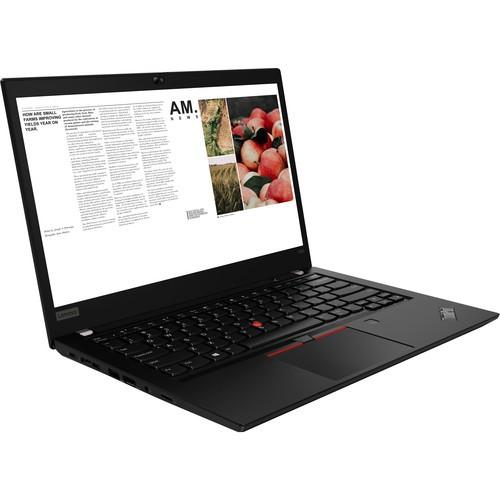 Lenovo ThinkPad T490 14-inch Notebook, Black
