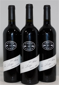 Chain of Ponds The Ledge Shiraz 2004 (3x