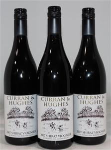 Curran & Hughes Shiraz Viognier 2007 (3x