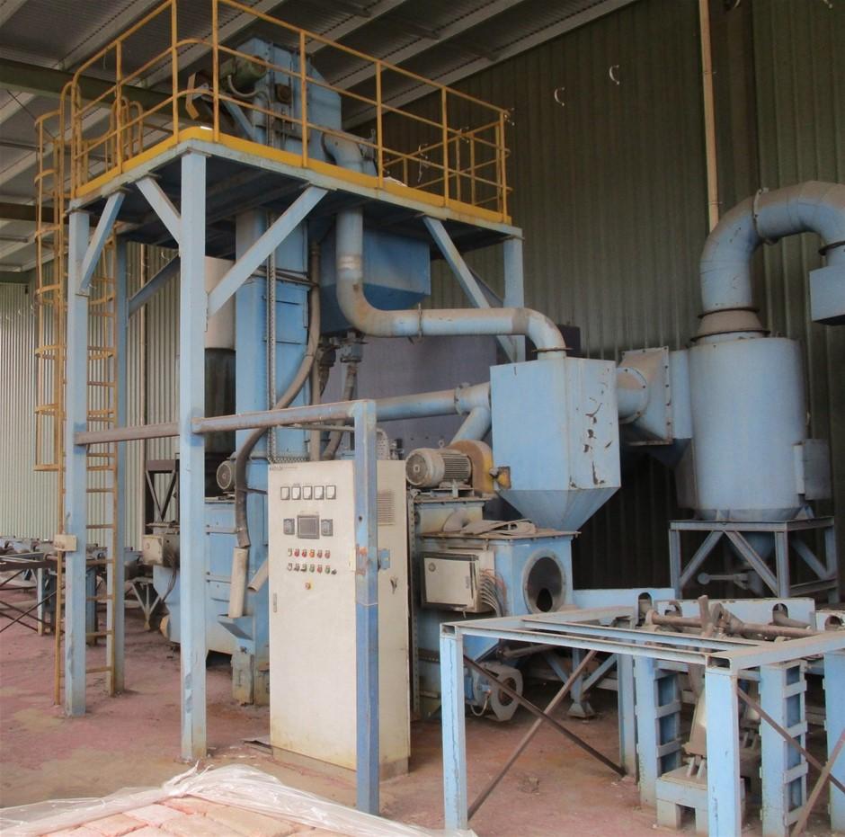 Wheelabrator Pipe Machine (Kaitech)