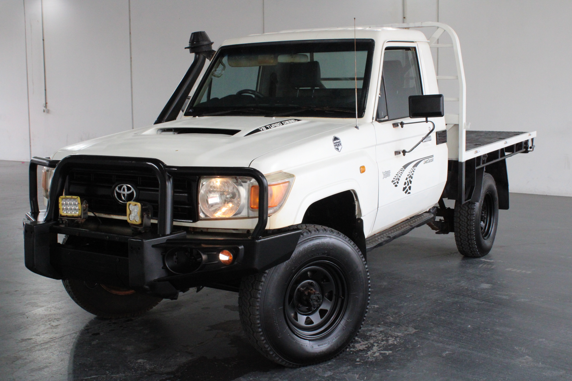 2011 Toyota Landcruiser Workmate 4x4 VDJ79R T/Diesel Man Cab Chassis