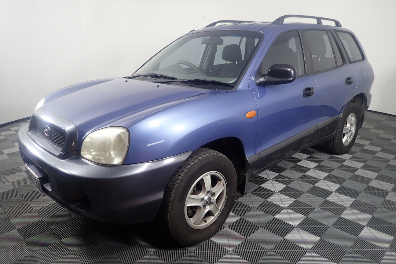 2001 Hyundai Santa Fe GL (4x4) Manual Wagon