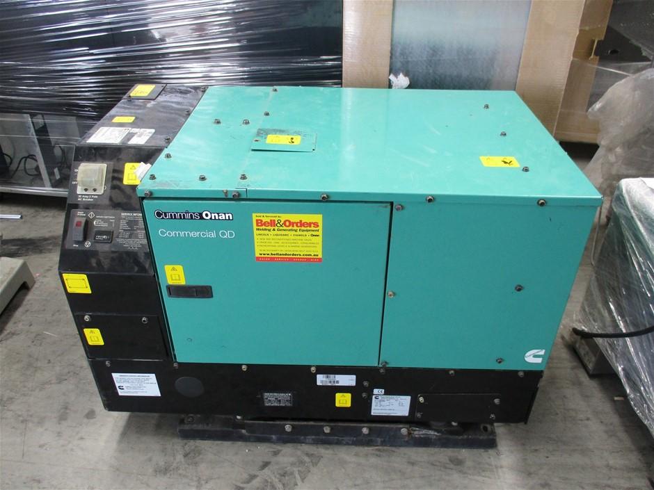 Cummins 8HDKCC-688IF Generator