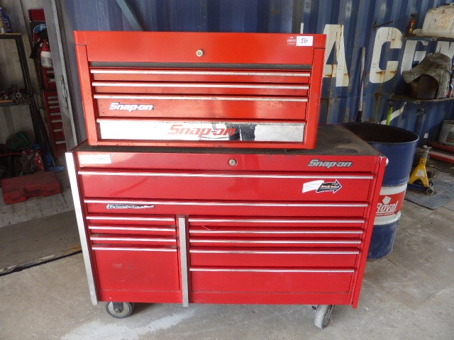 Snap-On Tool Bench with Toolbox