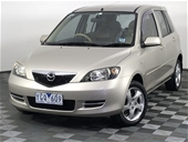 Unreserved 2002 Mazda 2 Maxx DY Manual Hatchback