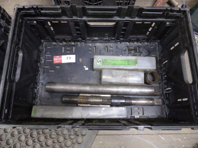 Crate of Assorted Reamer Tools