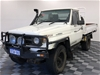 1995 Toyota Landcruiser (4x4) HZJ75 6.5 Chev Diesel Manual Cab Chassis