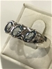 Truly Glorious 1.65Ct Blue Topaz Ring  Size R 1/2 (9)