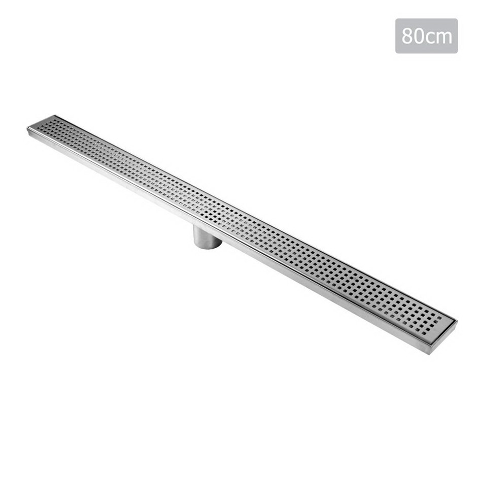 Cefito 115x115mm Stainless Steel Shower Grate Tile Drain Square Bathroom