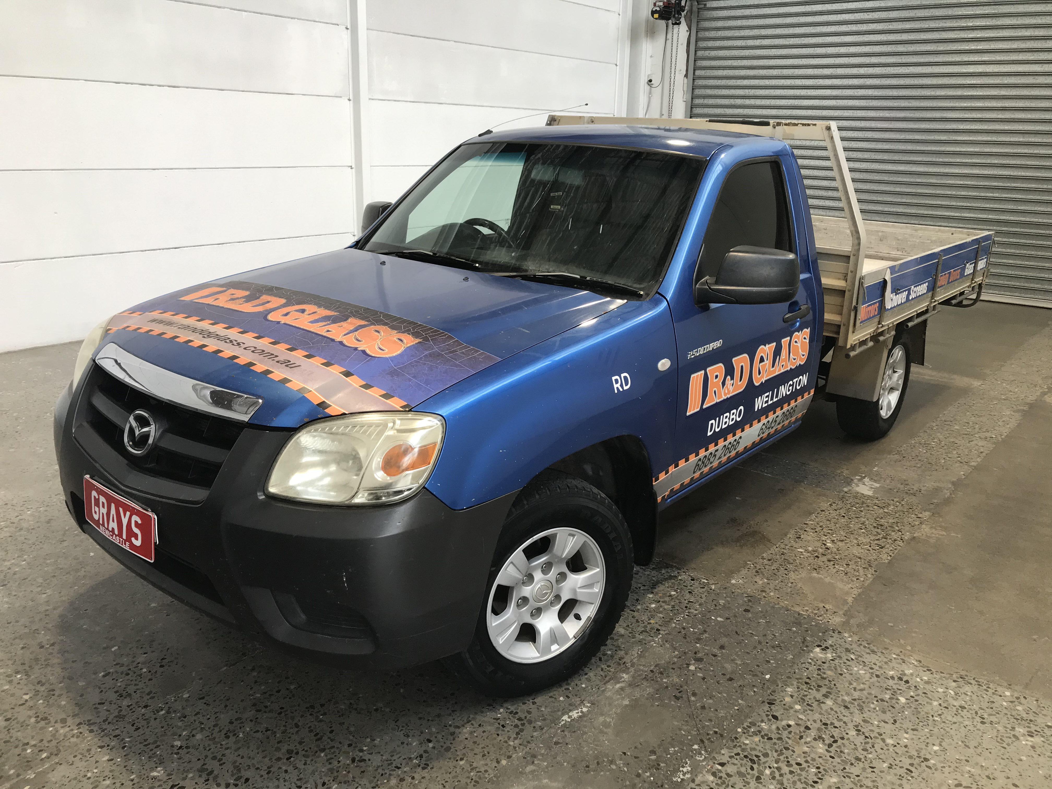 2008 Mazda BT-50 DX B2500 Turbo Diesel Manual Cab Chassis